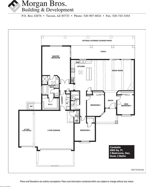 Custom homes portfolio the carrabelle vail arizona for Custom home floor plans az