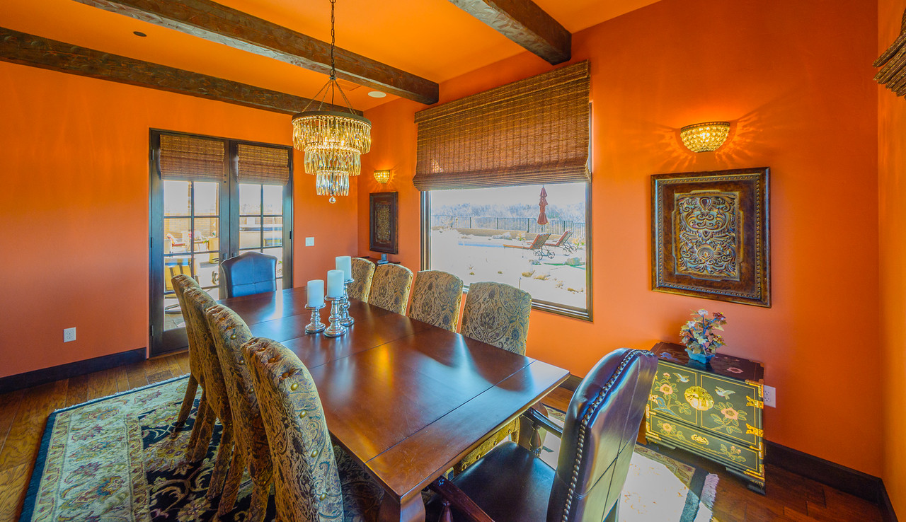 Morgan Brothers Custom Homes Hacienda: Dining Room
