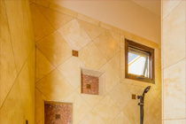Morgan Brothers Custom Homes Hacienda: Master Shower